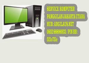 service komputer panggilan jakarta utara